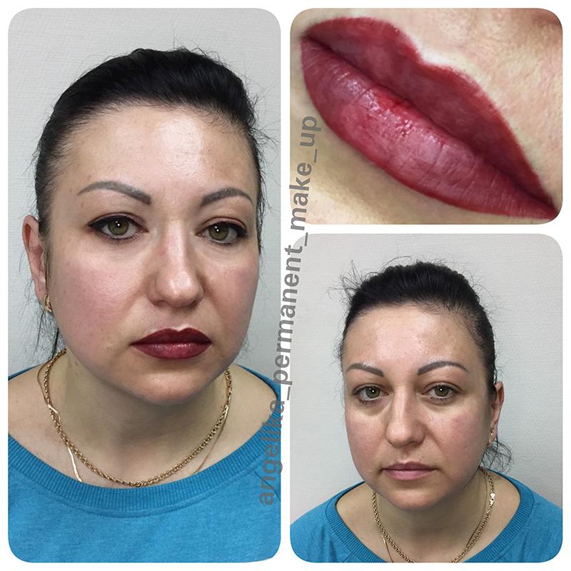 албанским татуаж губ фото до и после последствия дорога мне приснится